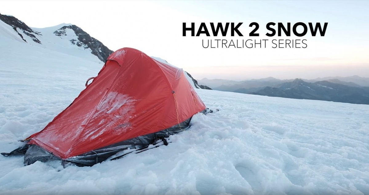HANNAH Namiot 2 os Hawk 2 ALU Snow 5000 mm 2.1 kg